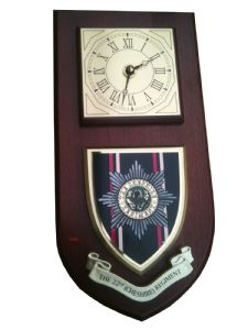 22 Cheshire Regiment Military Wall Plaque and Clock